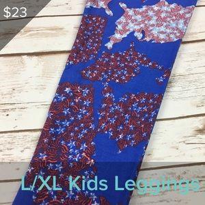3/$20 New LuLaRoe Kids Leggings L/XL